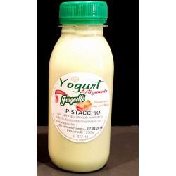 Yogurt artigianale al pistacchio con latte fresco