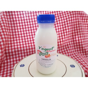 Vendita online Yogurt artigianale alla vaniglia fatto con latte freco pugliese