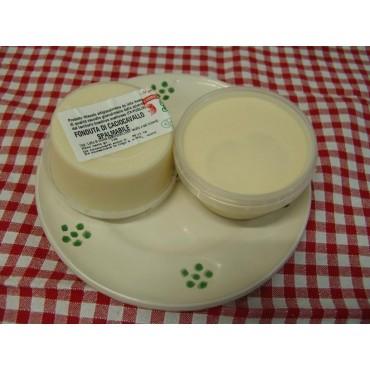 Vendita online Fonduta di caciocavallo spalmabile artigianle pugliese fatta da latte fresco