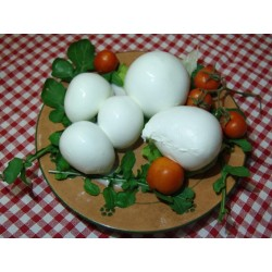 Mozzarella artigianale pugliese con latte di bufala