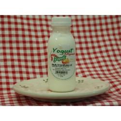 Yogurt naturale artigianale con latte fresco pugliese