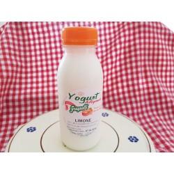 Yogurt artigianale al limone con latte fresco pugliese